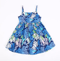 2018 New Summer Baby Girls Dress Fashion Girl Printed Suspen...