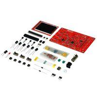 """을 Freeshipping DSO138 2.4 """"TFT 휴대용 포켓 사이즈 DSO138에 대한 디지털 오실로스코프 키트 SMD 납땜 + 아크릴 DIY 케이스 커버 쉘"""