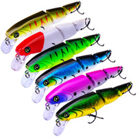 New BASS SHAD ALIVE Diver Fishing bait 11. 3cm 15g 2 Segments...