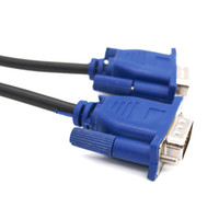 Blue 5FT 1. 5M VGA Cable VGA SVGA HDB15 Male to Male Extensio...