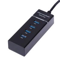 Yüksek Kaliteli 4 1 Siyah USB 3.0 HUB Splitter Için PS4 / PS4 Ince Xbox One için Xbox One için Yüksek Hızlı Adaptörü