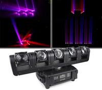 높은 품질 90W 5 머리 무대 헤드 라이트 바 5X12W RGBW 4IN1 LED 빔 무대 DJ가 디스코 레이저 조명 LLFA