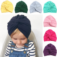 Fashin design Soft Cross Indian Cap Turban Cross Flower Baby...