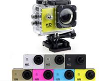 Hot SJ4000 1080P Full HD Azione Fotocamera digitale sportiva Schermo da 2 pollici sotto impermeabile 30M DV Registrazione Mini Sking Bicicletta Foto Video
