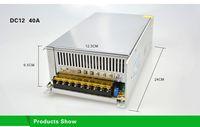 Transformador de iluminación 1A 2A 3A 5A 8A 10A 12A 15A 20A 30A 40A 110-265V a 12V Adaptador de fuente de alimentación de interruptor de controlador de LED para tira de LED