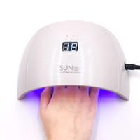 SUN9S LED Lampe Nail 24 W Lampe UV Séchoir Pour Manucure Art LED Nail UV Détection Automatique Lumière Gel Sécheur Machine