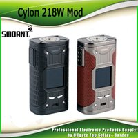 Оригинальный Smoant Cylon 218W Box Mod VW TC Dual 18650 Powered Ecig Vape Mods с экраном 1.35inch TFT 100% Аутентичный
