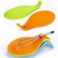 Silicone Spoon Insulation Mat Silicone Heat Resistant Placem...