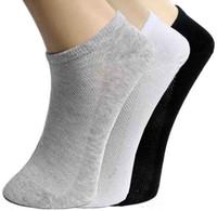 Новый стиль горячие продать Мужские носки лето повседневная полиэстер дышащий 3 чистые цвета спортивная сетка короткие лодка носки для мужчин liqinghui2011