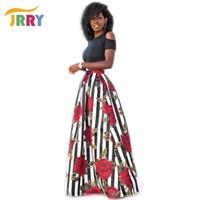 Nuovi abiti maxi da donna casual a due pezzi Manica corta Abito nero floreale con motivo lungo Top nero Abito lungo Plus Size 6xl Abiti