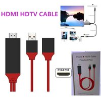 Universal HDMI Adapter Cable To HDTV 3 in 1 USB Cable Connec...