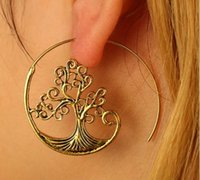 The Tree Of Life Stud Earrings Girls Ladies Jewelry Accessor...