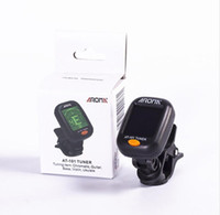 AROMA AT101 360 Mini LCD Clip Tuner Chromatic Clip- On Digita...