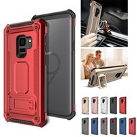 Magnetic Car Holder Stand TPU PC Cover Case For iPhone X 8 7...