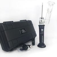 G9 h enail Henail Plus rechargable herbe sèche vaporisateur stylo à bille bubbler main verre pipe à eau cire stylo avec céramique Quartz titane clou