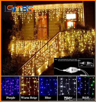 Curtain Icicle Led String light Christmas Light 4m Droop 0. 4...