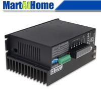 CNC Motor de Passo 2DM2280 Driver Controlador 8A 80-240 V AC adequado para NEMA 23/34/42 Motor Passos Máximos 25000 # SM670 @ SD