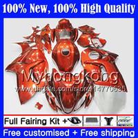 Kroppsglansig orange för Suzuki Hayabusa GSXR1300 2012 2013 2014 2015 19MY80 GSXR 1300 GSX R1300 08 09 10 11 12 13 14 15 Fairing Bodywork