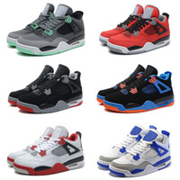 2018 New 4 Pure Money Basketball Shoes Mens 4s BRED Royalty ...