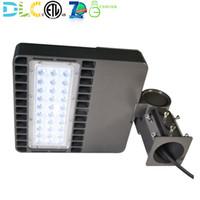 24 w 48 w LED Shoebox Luz Área de Estacionamento Luminária de Estádio Pólo Luminária Lâmpada de Iluminação 5000K ETL DLC Aprovado