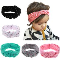 Wholesale New Dot Headbands for girls Multi color Baby Bouti...