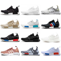 Wholesale NMD R1 Primeknit Top Quality Running Shoes Classic...