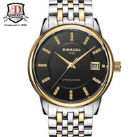 BINKADA Original Brand Men Automatic Mechanical Watch Stainl...