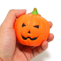 1pcs Slow Rising PU Smiling Face Halloween Pumpkins Squishy ...