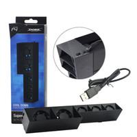 USB externe contrôle de la température Turbo USB 5 ventilateurs ventilateur de refroidissement refroidisseur pour Playstation 4 PS4 haute qualité FAST SHIP
