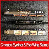 Cmaadu Eyeliner Eye Wing Sello Thin Thick Eye Liquid Fashion Fashion Vamp Liner Doble Eye Liner