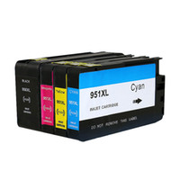 من أجل HP 950 951 XL Ink Cartridge لـ hp950 لـ HP951 Officejet Pro 8100 8600 8630 8640 8610 8620 8680 8615 with chip