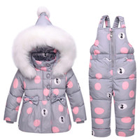 2018 New Winter Coat Snowsuit Duck Down Toddler Girls Outfit...