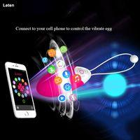 Leten 10 سرعات ذكي app اللاسلكية رصاصة الهزاز ألعاب مثيرة للمرأة ، ماء الهزاز سيليكون للنساء ، منتجات جنسية