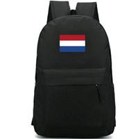 Нидерланды рюкзак Королевство Голландии рюкзак Nederlanden флаг школьный баннер рюкзак спортивная школа сумка Открытый день пакет