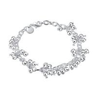 Pulseira de prata pulseira pulseira de videira; Brand new homens e mulheres 925 pulseira de prata SPB085