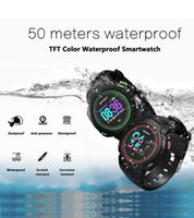 DT NO.1 F13 Smart montre ip68 étanche Sport course montre Multisport Couleur LCD Smart notification Sport tracker pour IOS / android 2018