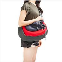 2019 Trasporto libero dei commerci all'ingrosso Pet Dog Cat Puppy Carrier Comfort Travel Tote Shoulder Bag Sling Backpack