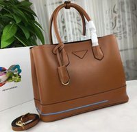 AAA 2777 35cm Saffiano Leather Double Top Handle Totes Bag, s...