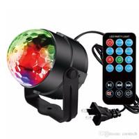 luces de escenario luces de DJ luces de fiesta Disco, luces giratorias de Blingco LED Luces 3W de 7 colores Activado efecto de luz estroboscópica