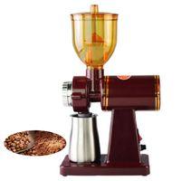 BEIJAMEI 110 v 220 v moedor De Café Elétrico moinho de Café máquina de Café Em Casa Pequeno moedor De Feijão Máquina de Moer Vermelho / Preto