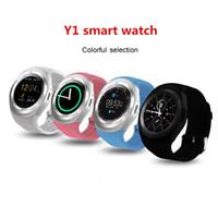 Y1 Sovo Dz09 Smart Watch Unterstützung Nano-SIM-Karte und TF-Karte Smartwatch PK Q18 M26 GT08 U8 tragbarer intelligenter Elektronikvorrat für iOS Android