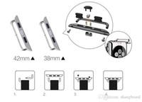 Pour les adaptateurs de connecteurs Apple Watch 2pcs / paire séries 1/2/3/4 avec bracelet de montre de 38 mm / 40 mm et 42 mm / 44 mm