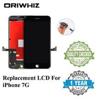 OriWhiz Zwart en Wit Kleur Voor iPhone 7 7G LCD-scherm Touchscreen 100% Test No Dead Pixels Kwaliteit Digitizer Assembly
