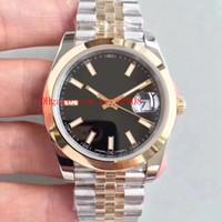 9 لون أفضل المعصم EWF 41mm 126333 126233 طنتين 18K الذهب الصلب كال. 3255 حركة الميكانيكية التلقائي رجل ووتش الساعات