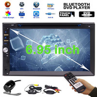 """Upgarde Version 6.95 """"Double 2 DIN Electronics PC Car DVD CD 1080p Video Player Bluetooth Digital Touch Screen Car Stereo Radio HeadUnit"""