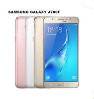 Original Samsung Galaxy J7 J700F 5,5 polegadas 13MP Ram 1,5 GB Rom 16GB desbloqueado Refurbished telefone celular