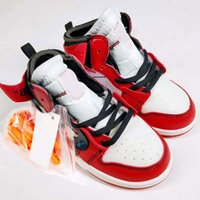 Kids Off Shoes 1 Jam Bred Concord Gym J1s White Blue Red Bas...