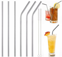 30 20 oz Cup Stainless Steel Straw Durable Reusable Metal 10...