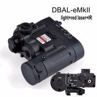 عنصر الصيد التكتيكية مصباح يدوي DBAL-D2 IR الليزر والشعلة بقيادة DBAL-EMKII الخفيفة