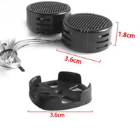 2 stücke Universal High Efficiency 2x500 Watt Auto Mini Dome Tweeter Lautsprecher Lautsprecher Super Power Audio Auto Sound Klaxon Ton